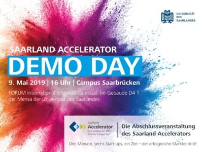 Demo Day Saarland Accelerator