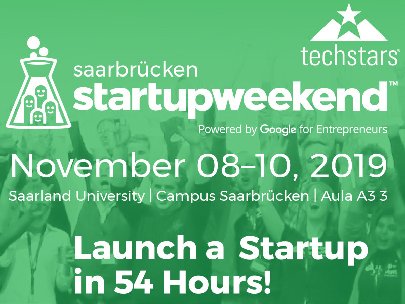 startupweekend Saarbrücken 2019