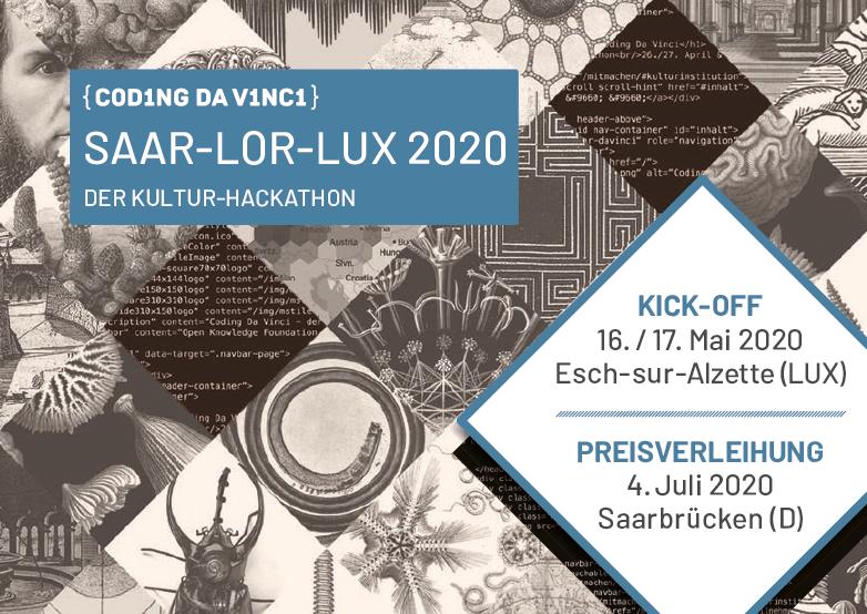 Coding Da Vinci SaarLorLux 2020