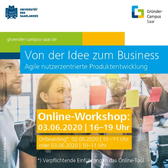 Workshop Von der Idee zum Business