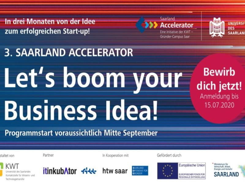 Saarland Accelerator 2020