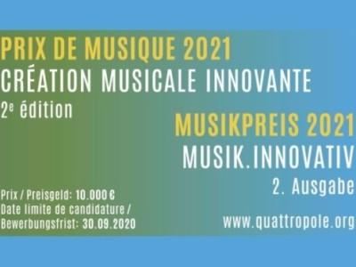 Quattropole Musikpreis 2021