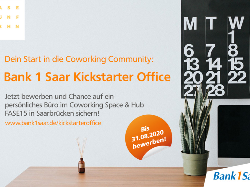Bank 1 Saar Kickstarter Office