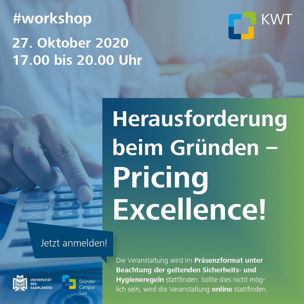 Workshop Pricing Excellence