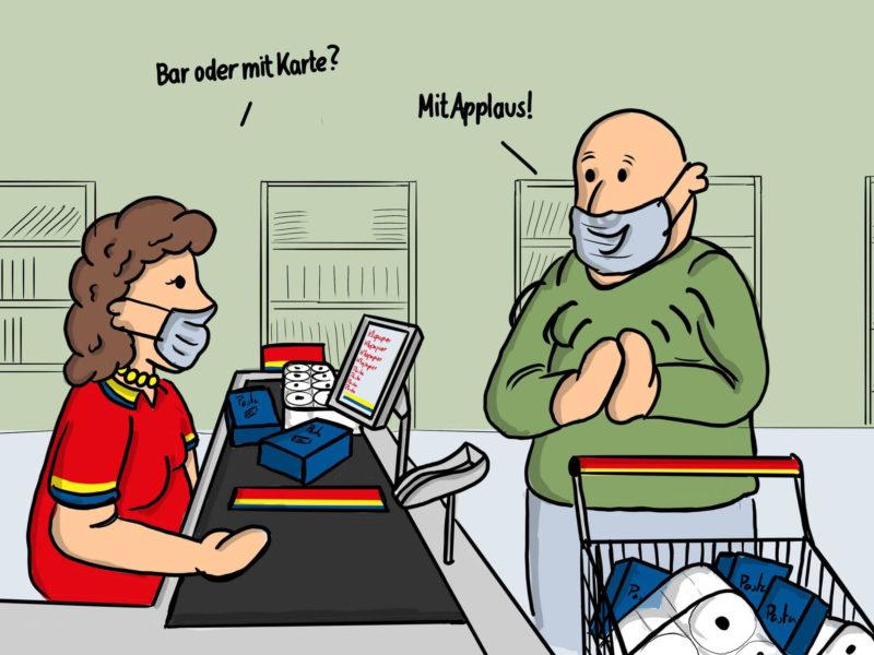 Felix Gropper Karikatur