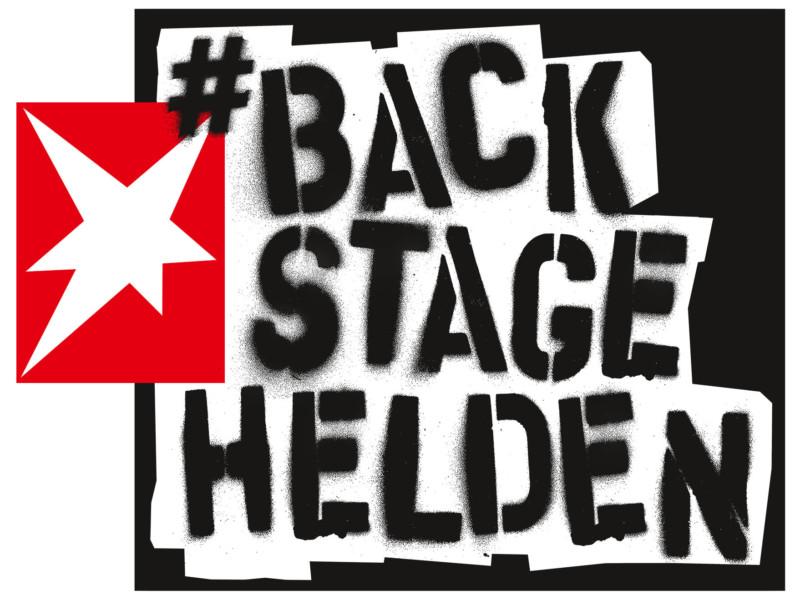 Spendenaktion »Backstage-Helden«