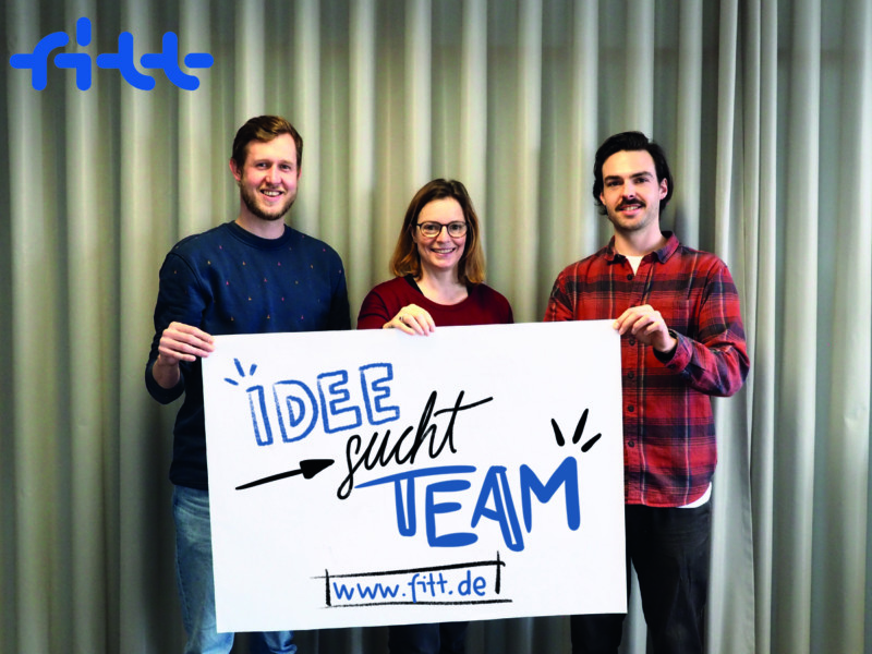 Setz deine Geschäftsidee in die Tat um – Mit »Idee sucht Team«!