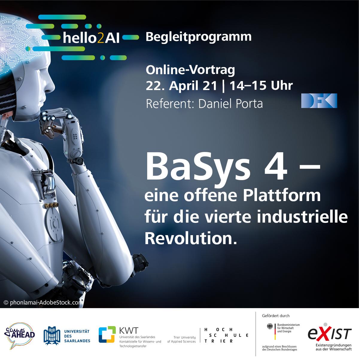 Online-Vortrag BaSys 4