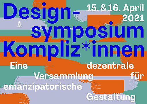 Design-Symposium Kompliz*innen