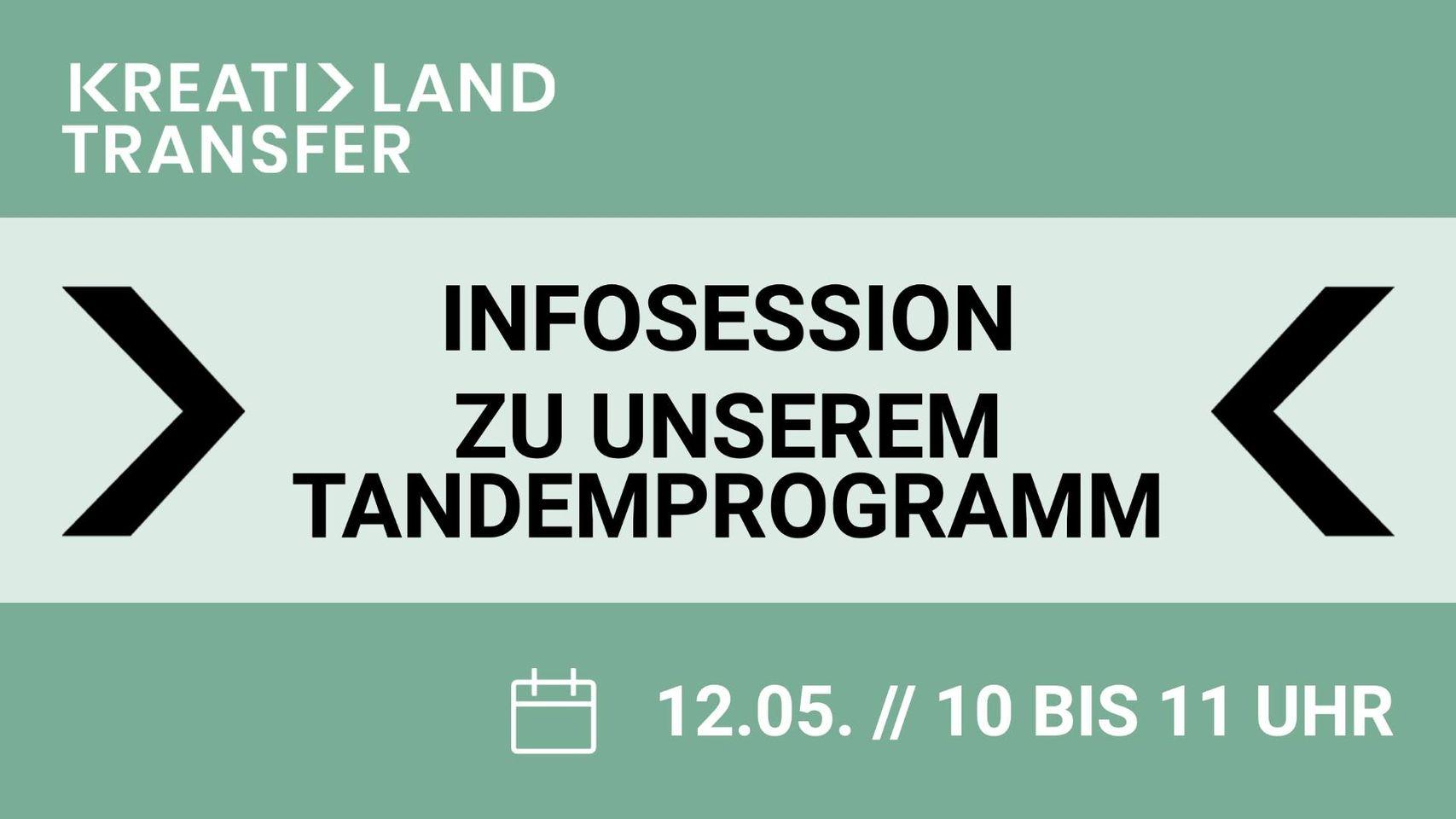 Infosession Tandemprogramm KreativLandTransfer