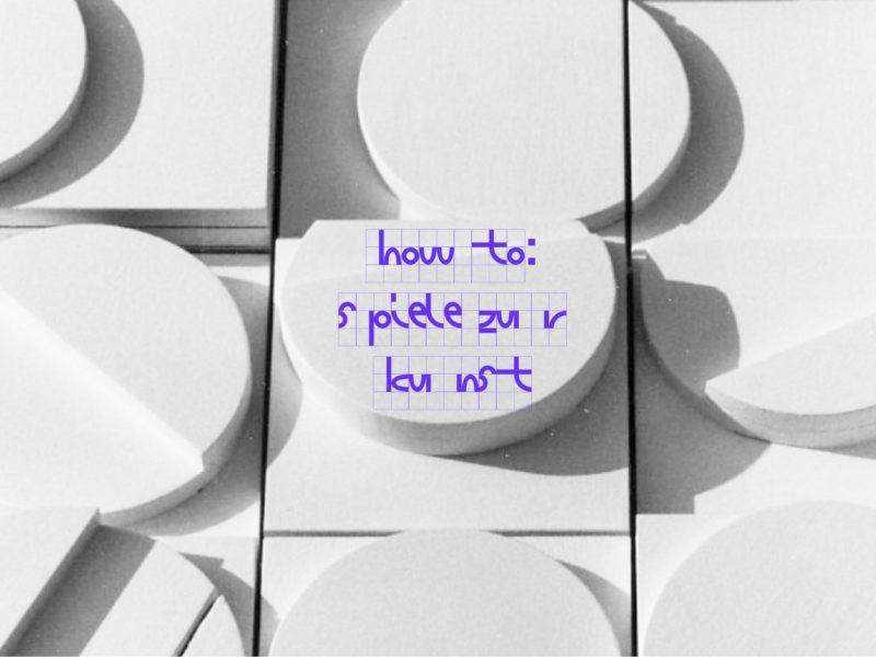 Interview »How To: Spiele zur Kunst«.