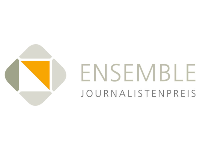 Journalist:innenpreis »Ensemble«