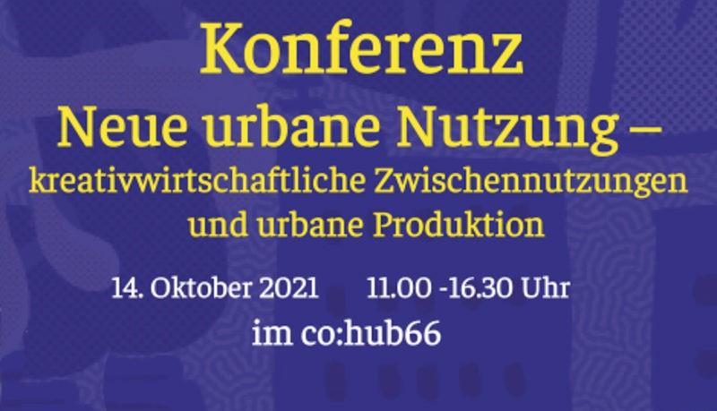 Konferenz »Neue urbane Nutzung« 5