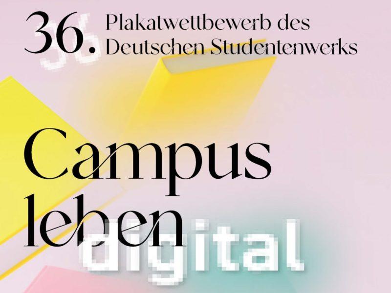 Plakatwettbewerb des Deutschen Studentenwerks 1